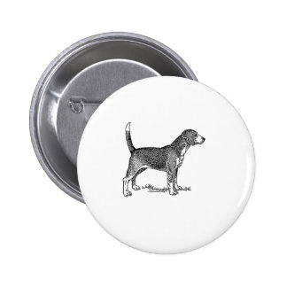 Cute Beagle Elegant Dog Drawing Pins