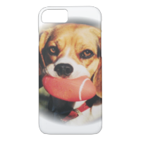 Cute Beagle & Football Toy iPhone 7 Case