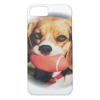 Cute Beagle & Football Toy iPhone 7 Case