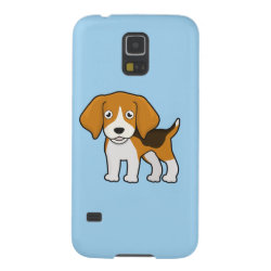 Cute Beagle Galaxy S5 Case
