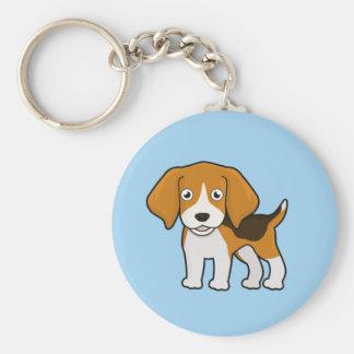 Cute Beagle Keychain