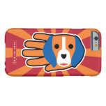 Hand shaped Cute Beagle Pup Barely There iPhone 6 Case