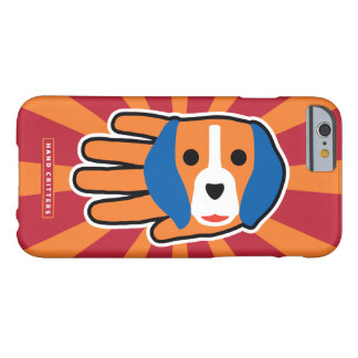 Cute Beagle Pup Barely There iPhone 6 Case
