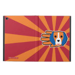 Hand shaped Cute Beagle Pup Powis iPad Air 2 Case