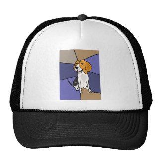 Cute Beagle Puppy Dog Trucker Hat