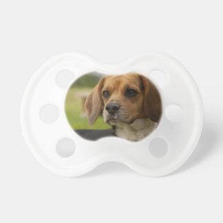 Cute Beagle Puppy Dog BooginHead Pacifier