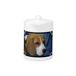 Cute Beagle  Teapot