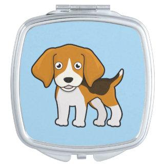 Cute Beagle Vanity Mirror