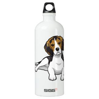 Cute Beale Puppy Aluminum Water Bottle