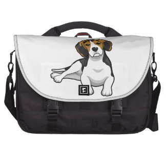 Cute Beale Puppy Commuter Bags