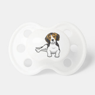 Cute Beale Puppy BooginHead Pacifier