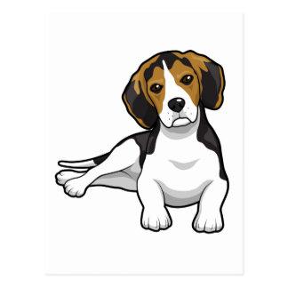 Cute Beale Puppy Postcard