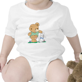 Cute Bear and Easter Bunny Bodysuits