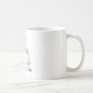 Cute Bear and Easter Bunny Coffee Mugs