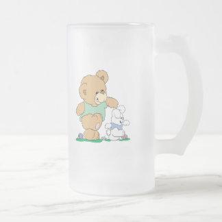 Cute Bear and Easter Bunny Mugs