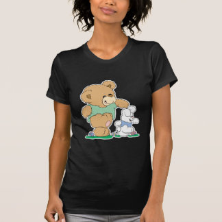 Cute Bear and Easter Bunny T-shirt