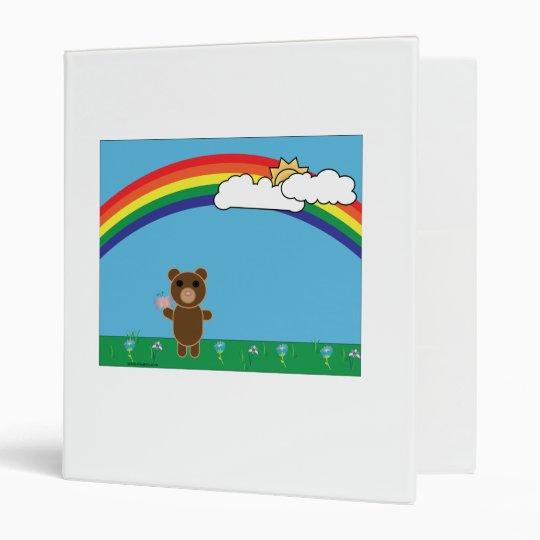 Cute Bear Avery Binder