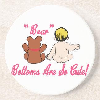 Cute Bear Bottoms Coaster