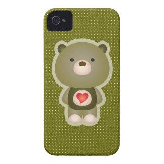 Cute Bear Case-Mate iPhone 4 Case