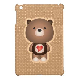 Cute Bear Cover For The iPad Mini