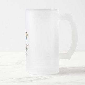 Cute Bear Doing Laundry Coffee Mug