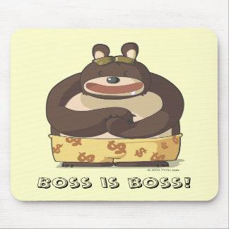 Cute Bear funny anime cartoon character mousepad