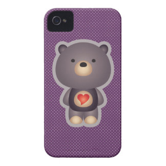 Cute Bear iPhone 4 Case-Mate Case