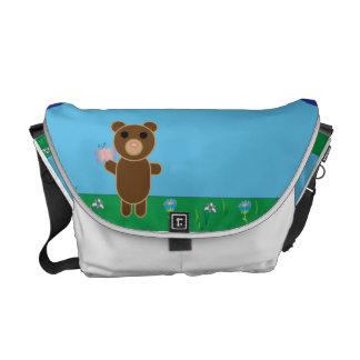 Cute Bear Messenger Bags
