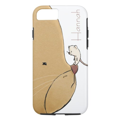 Cute Bear & Mouse iPhone 8/7 Case