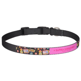 Cute bear pattern. pet collar