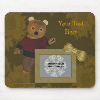 Cute Bear Personalized Photo Mousepad