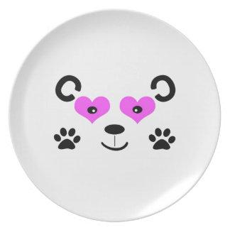 Cute Bear Dinner Plates