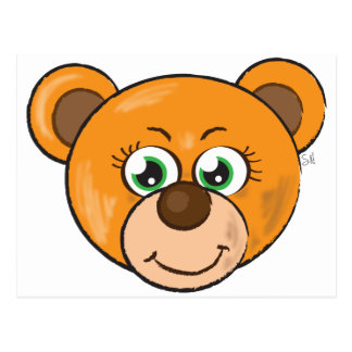 Cute Bear Postcard