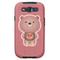 Cute Bear Samsung Galaxy S3 Covers