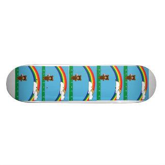 Cute Bear Skateboard