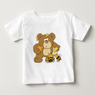 Cute Bear Stealing Honey Baby T-Shirt