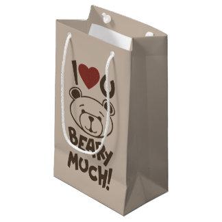 Cute Bear Valentine Small Gift Bag