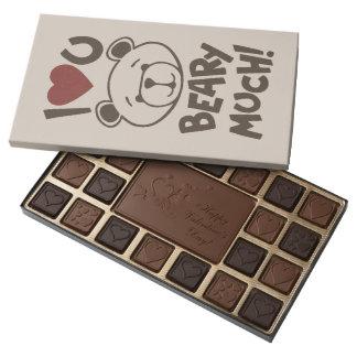 Cute Bear Valentine 45 Piece Assorted Chocolate Box