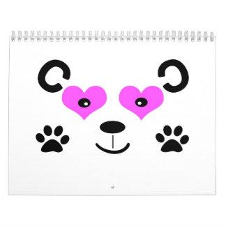 Cute Bear Wall Calendar