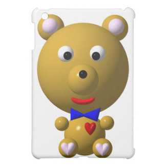 Cute bear with bowtie and heart! case for the iPad mini
