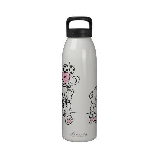 Cute Bears Water Bottles