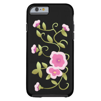 Cute Beautiful Pink Chinese Vintage Flower iPhone 6 Case
