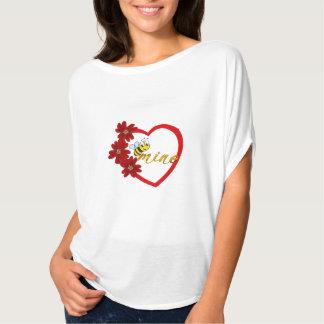 cute beautiful valentines day honey be mine design T-Shirt