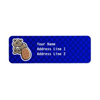 Cute Beaver; Blue Label