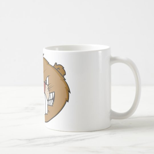 Cute Beaver Coffee Mug