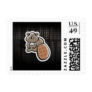 Cute Beaver; Cool Postage