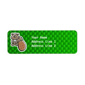Cute Beaver; Green Label