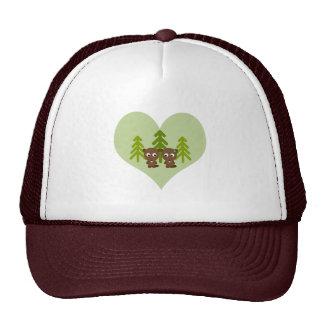 Cute Beaver Love Trucker Hat