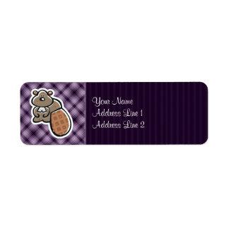 Cute Beaver; Purple Label