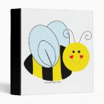 Cute Bee 3 Ring Binders